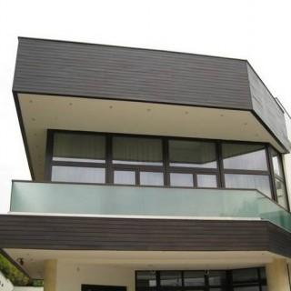 Sistem de fatada ventilata din Iroko