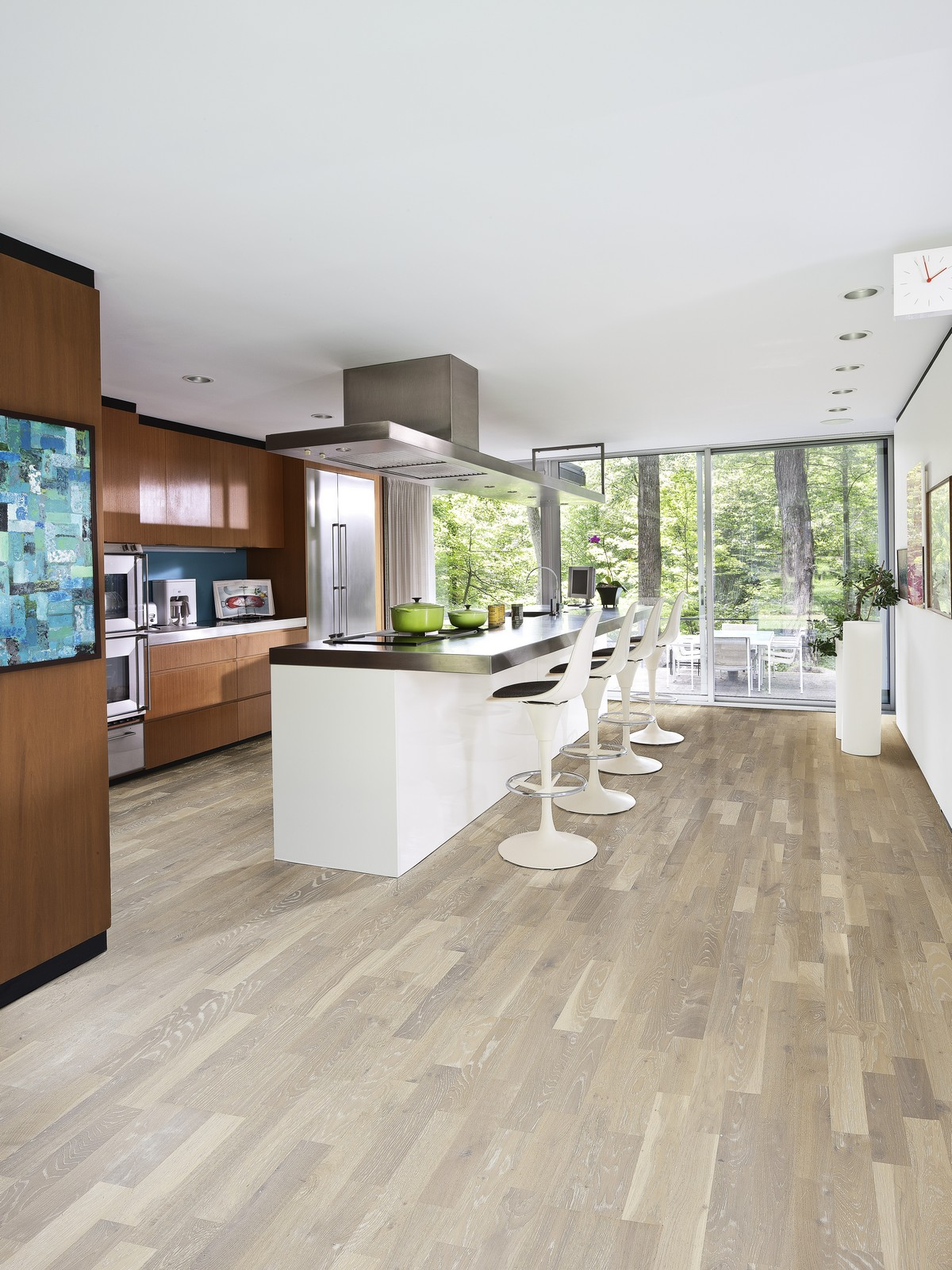 Parchet triplustratificat Stejar Limestone
