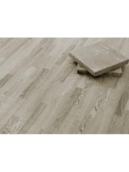 Parchet triplustratificat Stejar Concrete Grey 3strip