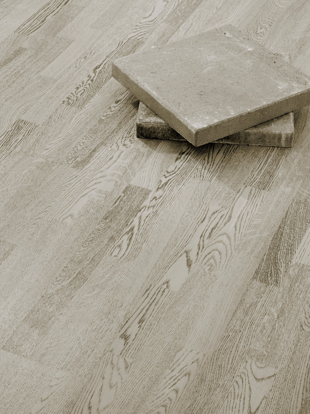 Parchet triplustratificat Stejar Concrete Grey 3strip