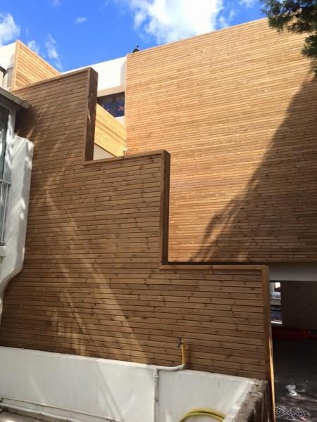 Sistem de lambriuri exterioare Pin Nordic termotratat