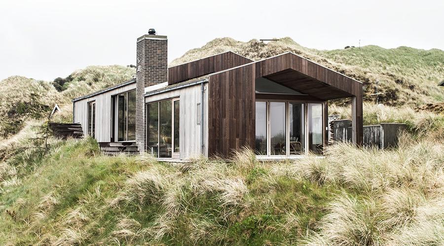 Casa de vacanță pe coasta de vest a Danemarcei